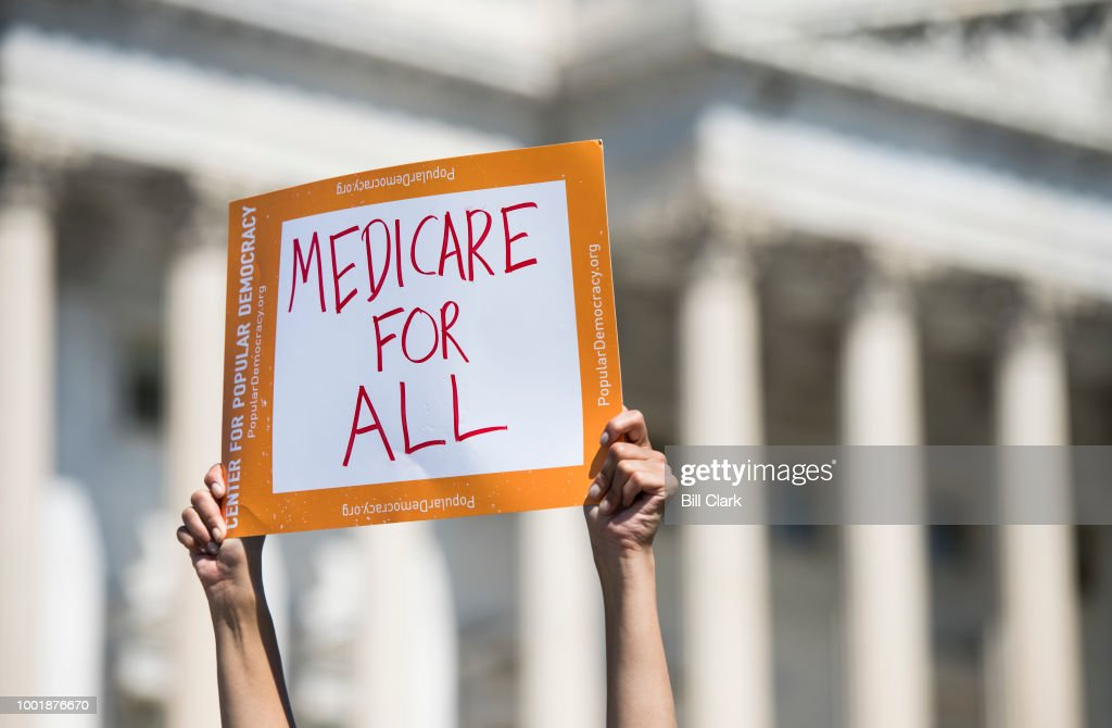 Medicare for All Caucus : News Photo