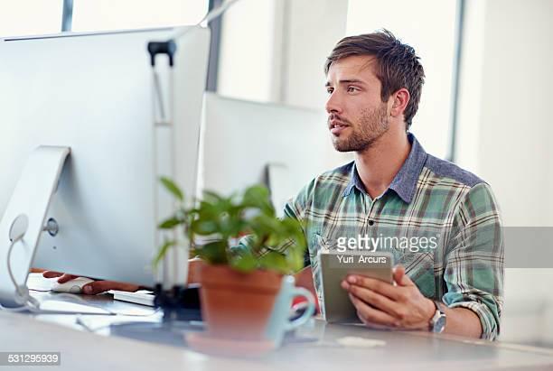 Progressive Design?. Checking design on a mobile device