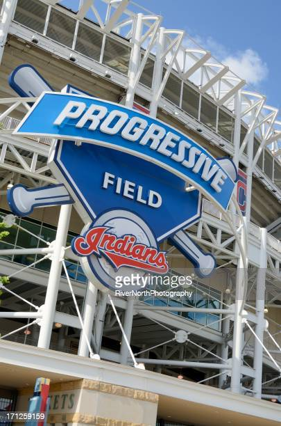 progressive field - sports venue stock pictures, royalty-free photos & images