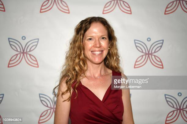 Project Heal honoree and author Jenni Schaefer arrives at Project Heal's 4th Annual Gala at Private Residence on September 7 2018 in West Hollywood...