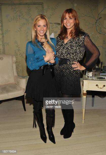 Project Ladybug Founder Dina Manzo and TV personality Jill Zarin attend ReVive Skincare Charity Soiree for Project Ladybug at Bergdorf Goodman on...