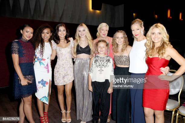 Project Mc2 Actresses Ysa Penarejo Genneya Walton Mika Abdalla Belle Shouse actress Tori Spelling daughter Stella McDermott Host Jennie Garth...