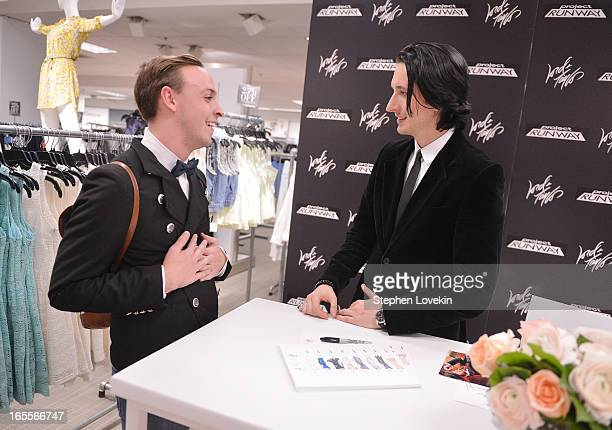 88cc7169e85e Project Runway season 10 winner Dmitry Sholokhov greets fans as part of his  exclusive collection debut
