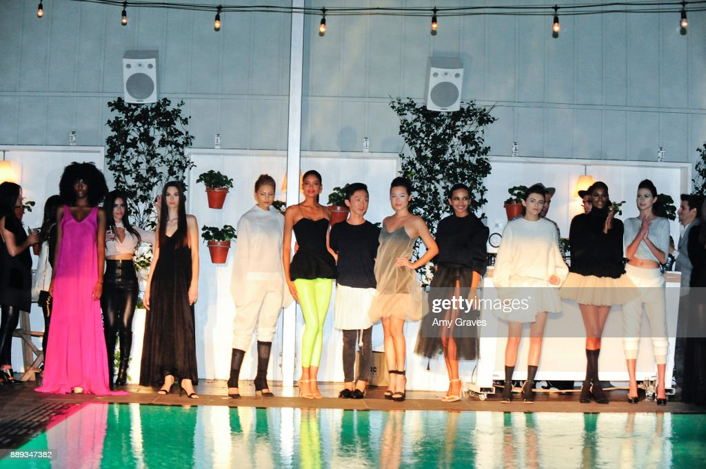 Project Runway Winner Kentaro Kameyama Presents His Collection At News Photo Getty Images