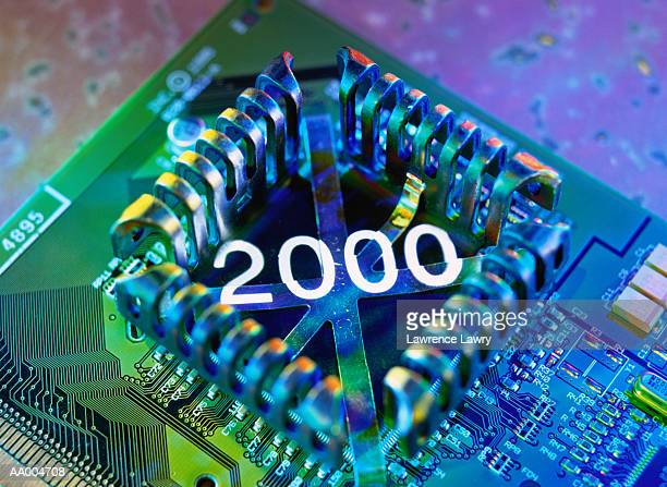 2000 Projected Onto a Computer Chip