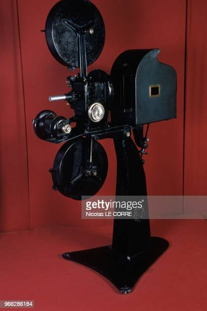 Projector Gaumont From 1931 At 100th Anniversary Of Gaumont Exhibition Paris February 27 1995