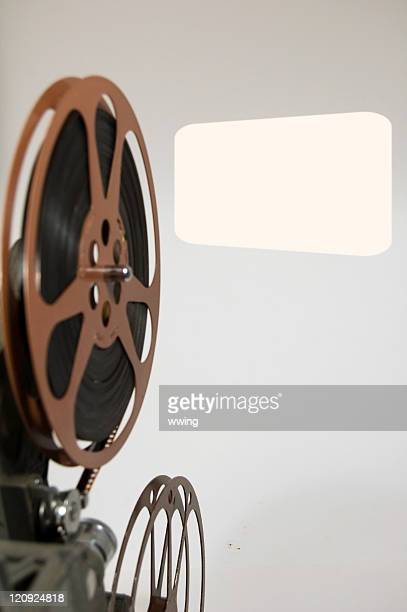 Projector Reels and Screen Copy Space
