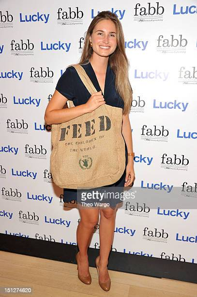 Projects founder Lauren Bush Lauren attends Lucky Magazine Hosts FABB Fashion and Beauty Blog Conference presented by PG Beauty Grooming on September...