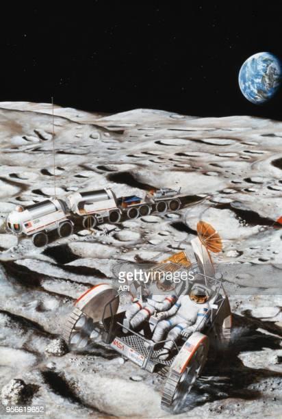Projet d'une future base lunaire