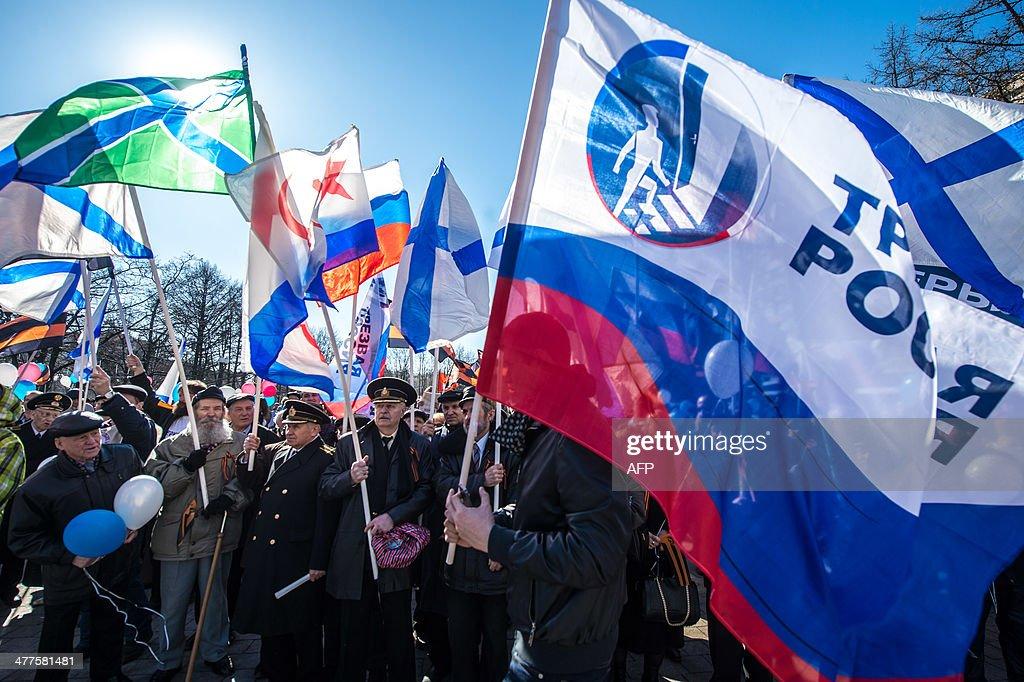 RUSSIA-UKRAINE-POLITICS-UNREST : Nachrichtenfoto