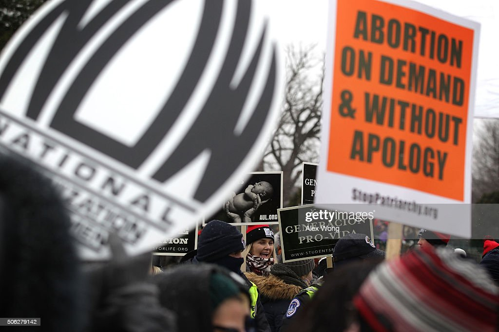 Annual Anti-Abortion March For Life Rally Takes Place In D.C. : News Photo