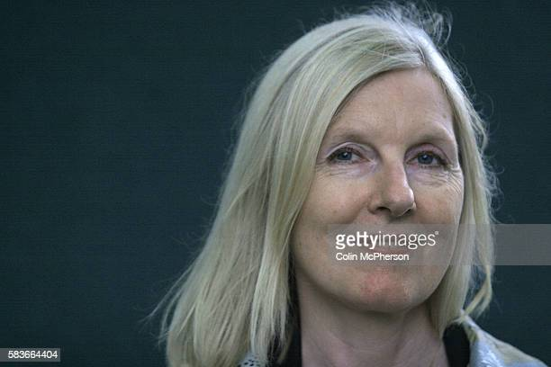 Prolific British writer Helen Dunmore pictured at the Edinburgh International Book Festival where she talked about latest novel entitled House Of...