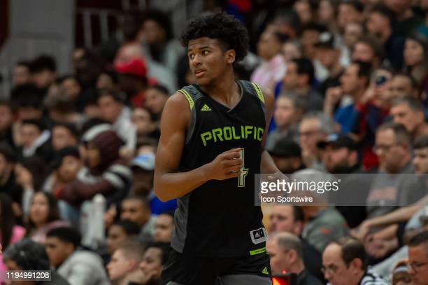Prolific Prep Crews guard Jalen Green is pictured during the first half of the Spalding Hoophall Classic high school basketball game between the...