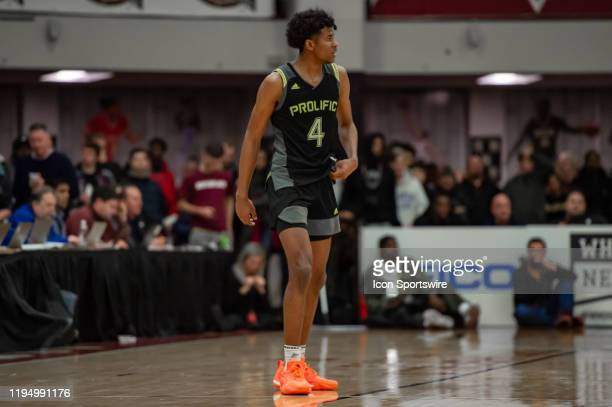 Prolific Prep Crews guard Jalen Green is pictured during the second half of the Spalding Hoophall Classic high school basketball game between the...