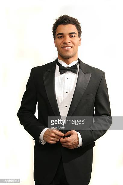 prom date - dinner jacket stock pictures, royalty-free photos & images