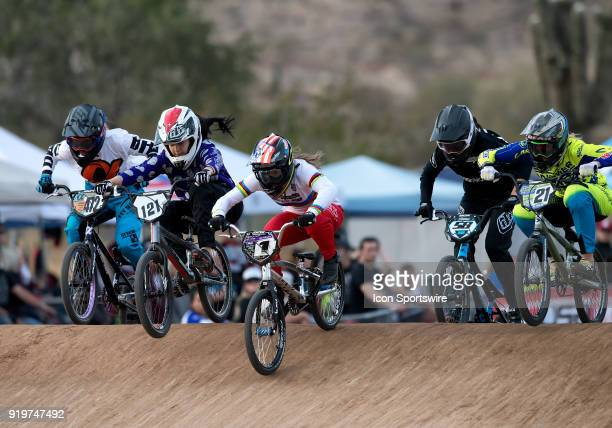 Promax/GW's UCI World Champion Alise Willoughby leads Alpha's Bicycle Products' Keely Kortman , Ashley Verhagen , Rachel Jones of Australia , and...
