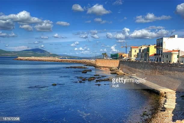 Promenade von Alghero (Italien