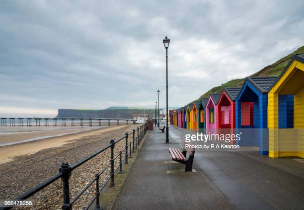 promenade at saltburn-by-the-sea, north yorkshire, england - social history stock pictures, royalty-free photos & images