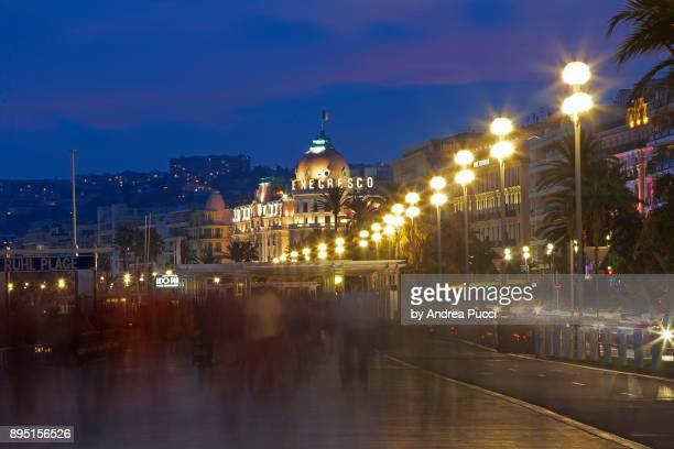 Promenade des Anglais ('Walkway of the English'), Nice, Provence-Alpes-Côte d'Azur region, France