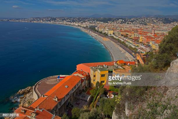 Promenade des Anglais ('Walkway of the English'), Nice, Provence-Alpes-Côte d'Azur region, France