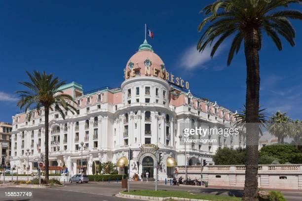 Promenade des Anglais, the Hotel Negresco