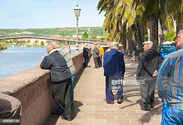 promenade en italia - cerdeña fotografías e imágenes de stock