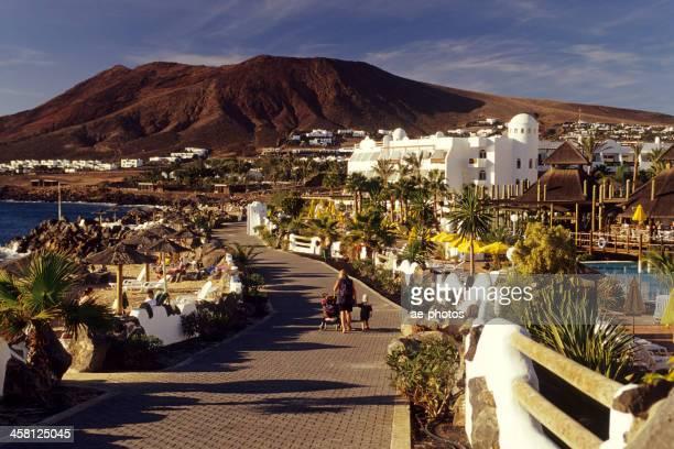 Promenade of Playa Blanca Lanzarote