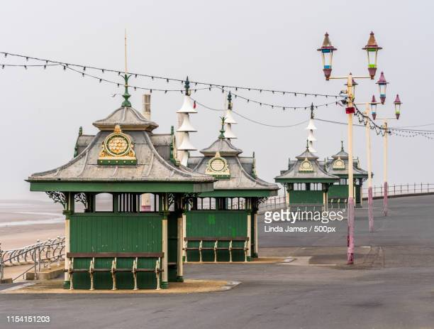 promenade - blackpool stock pictures, royalty-free photos & images