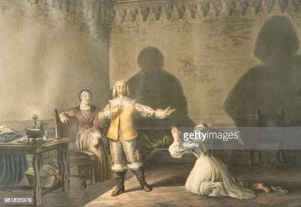 Promessi Sposi. The Betrothed. Lithography. Centro Nazionale Di Studi Manzoniani .