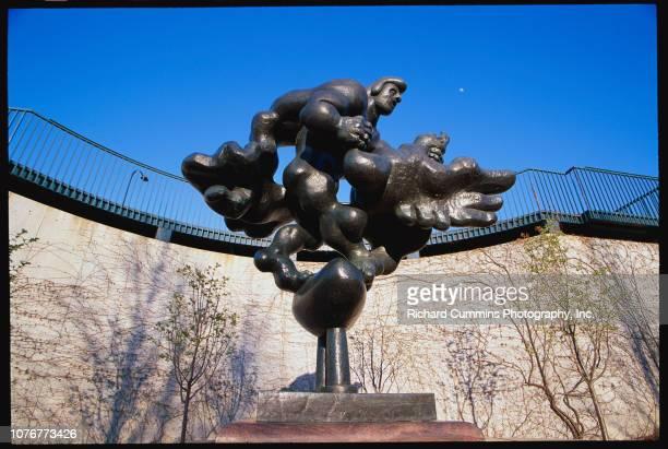 Prometheus Strangling the Vulture II by Jacques Lipchitz