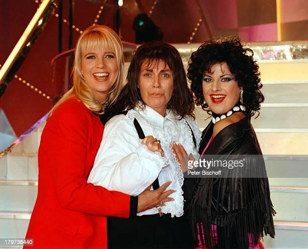 ProminentenPlaybackShow mit Christiane Krüger als Meat Loaf und Tanja Schumann als Ellen Foley und Linda de Mol Verkleidung Showmasterin...