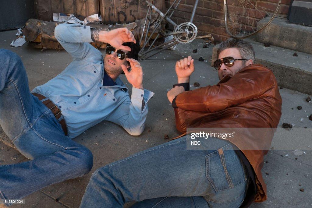 THE VOICE -- 'Promo' -- Pictured: (l-r) Adam Levine, Blake Shelton --