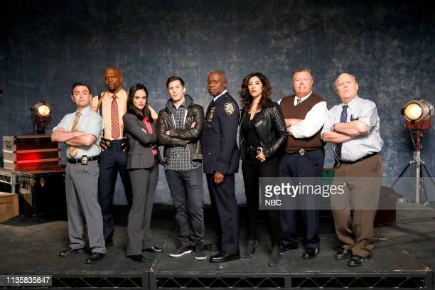 Joe Lo Truglio as Charles Boyle Terry Crews as Terry Jeffords Melissa Fumero as Amy Santiago Andy Samberg as Jake Peralta Andre Braugher as Ray Holt...