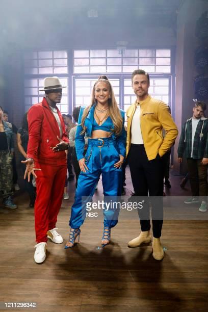 """Promo"""" -- Pictured: Ne-Yo, Jennifer Lopez, Derek Hough --"""