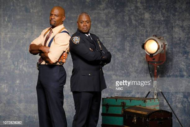 Terry Crews as Terry Jeffords Andre Braugher as Ray Holt