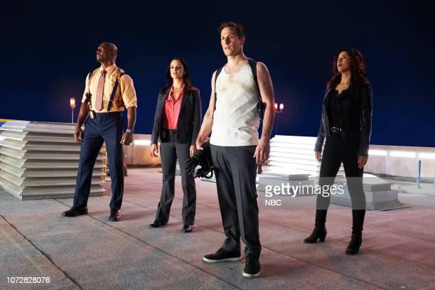 Terry Crews as Terry Jeffords Melissa Fumero as Amy Santiago Andy Samberg as Jake Peralta Stephanie Beatriz as Rosa Diaz