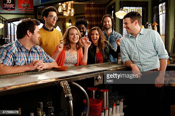 UNDATEABLE Promo Shoot Pictured David Fynn as Brett Rick Glassman as Burski Bridgit Mendler as Candace Ron Funches as Shelly Bianca Kajlich as Leslie...