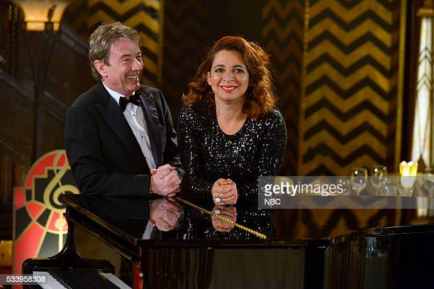 MAYA MARTY Promo Shoot Pictured Martin Short Maya Rudolph