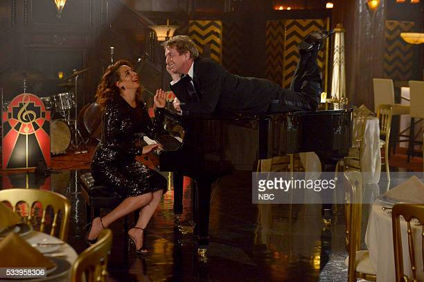 MAYA MARTY Promo Shoot Pictured Maya Rudolph and Martin Short
