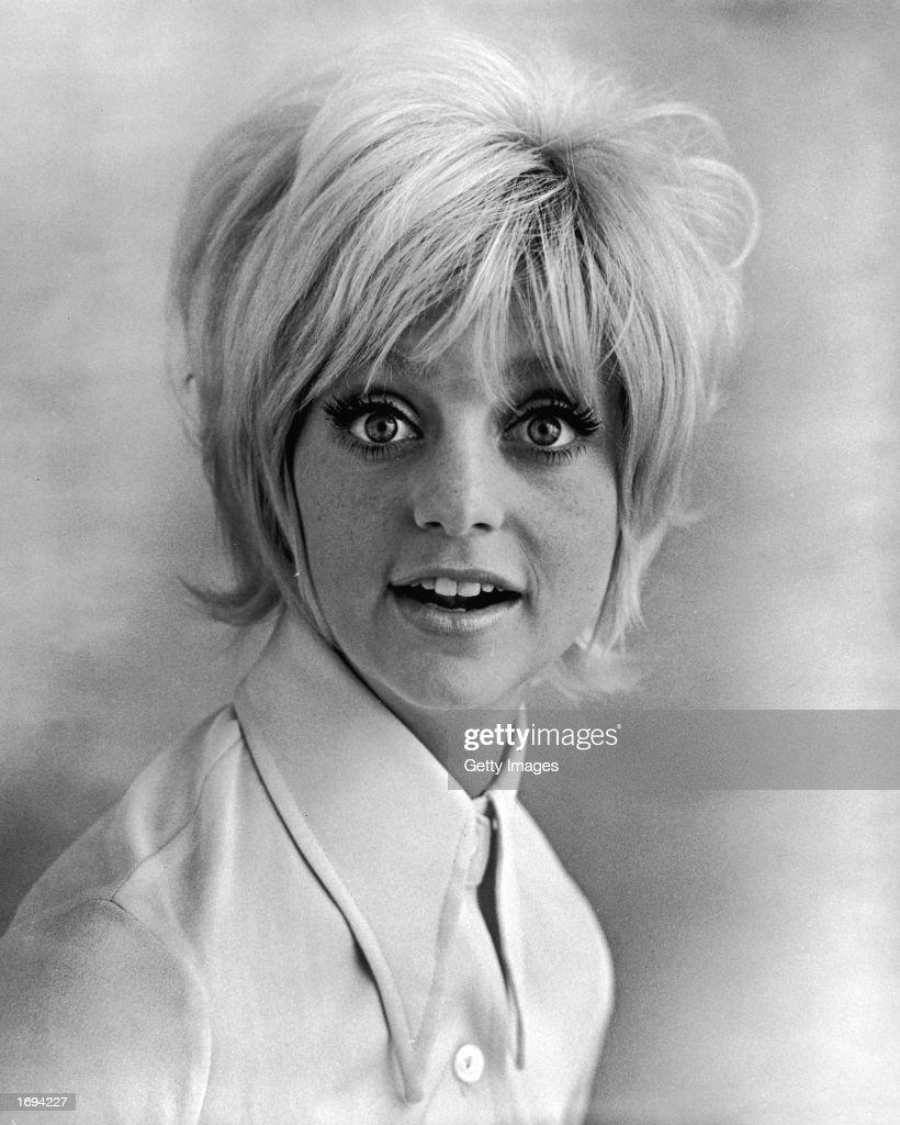 Studio Portrait Of Goldie Hawn, c. 1969.  : News Photo