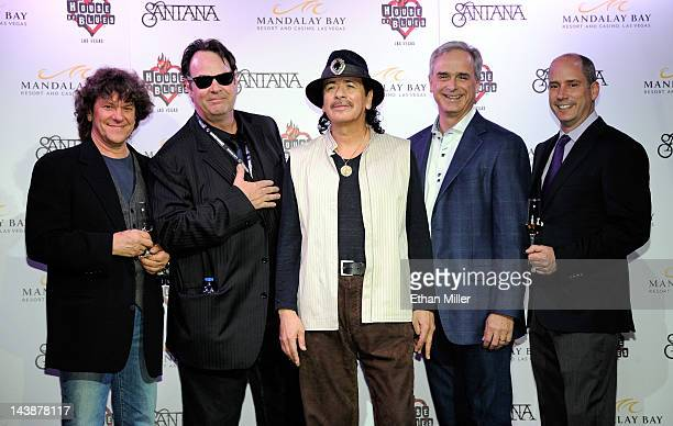 Promoter and cofounder of the original Woodstock Music Art Fair Michael Lang actor and House of Blues cofounder Dan Aykroyd recording artist Carlos...