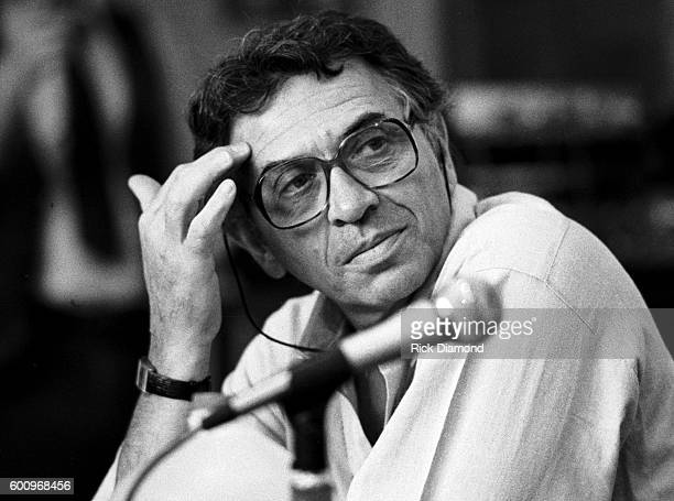 Promoter Bill Graham attends a press conference discussing The Conspiracy of Hope tour celebrating Amnesty International's 25th anniversary at The...