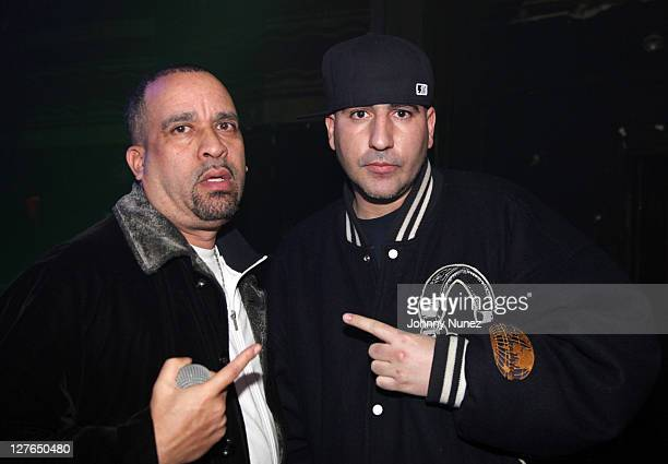 Promoter Joe Jackson and DJ Killa Touch attend Girls Night Out at Webster Hall on March 31 2011 in New York City