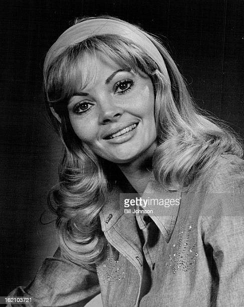 JUN 2 1974 JUN 13 1974 Promoting Riding Championships Jeannine Riley former costar of the Hee Haw television comedy series was in Denver Wednesday to...