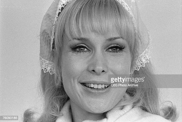 Promotiona portrait of American actress Barbara Eden for an appearance on 'The Carol Burnett Show' November 18 1967