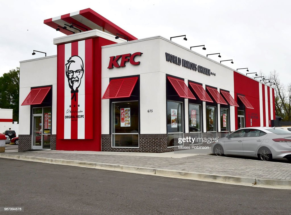 KFC Menu Items and Restaurant : News Photo