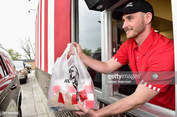 Promotional Atmosphhere at KFC on April 4 2018 in Orangeburg South Carolina