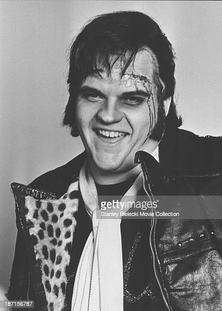 Promotional headshot of actor and musician Meat Loaf as he appears in the movie 'The Rocky Horror Picture Show' 1975