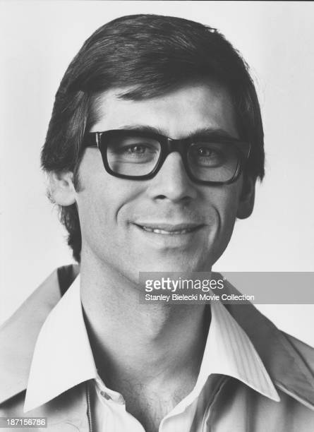 Promotional headshot of actor Barry Bostwick as he appears in the movie 'The Rocky Horror Picture Show' 1975