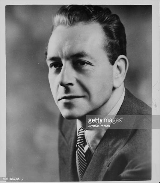 Promotional headshot of actor Paul Henreid as he appears in the movie 'So Young So Bad' 1950